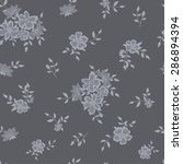 seamless background with grey... | Shutterstock .eps vector #286894394