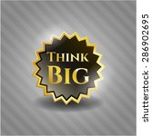 think big shiny badge | Shutterstock .eps vector #286902695