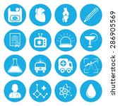 vector illustration of medical... | Shutterstock .eps vector #286905569