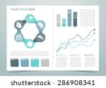finance infographic page 4   Shutterstock .eps vector #286908341