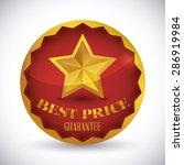 best price design over white... | Shutterstock .eps vector #286919984