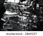 car engine part   close up... | Shutterstock . vector #2869257