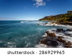 tropical white sand beaches ... | Shutterstock . vector #286929965