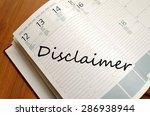 business notepad on wooden... | Shutterstock . vector #286938944