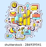 vector color illustration of... | Shutterstock .eps vector #286939541