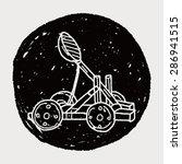 trebuchet doodle   Shutterstock .eps vector #286941515