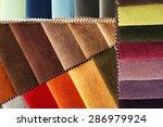 scraps of colored tissue close... | Shutterstock . vector #286979924