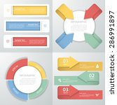 abstract template infographic.... | Shutterstock .eps vector #286991897