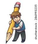 vector illustration of school... | Shutterstock .eps vector #286993235