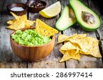 Homemade Guacamole With Corn...