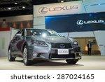 bangkok   april 3  2015   lexus ... | Shutterstock . vector #287024165