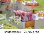 Dessert Table With Cakes...