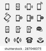 phone icon | Shutterstock .eps vector #287048375
