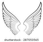 wings free vector art 4527 free downloads rh vecteezy com vector angle wings vector art angel wings