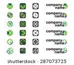 irish clover logo ideas | Shutterstock .eps vector #287073725