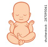 Newborn Little Baby Smiling...