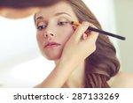 backstage scene  professional... | Shutterstock . vector #287133269