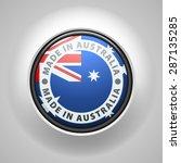 made in australia | Shutterstock .eps vector #287135285