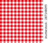 Seamless Coarse Red Checkered...