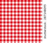 Seamless Coarse Red Checkered...