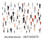 standing together corporate... | Shutterstock . vector #287150375