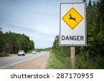 Sign Warning Motorists Of...