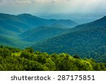 View Of The Blue Ridge...