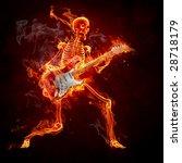 Guitarist   Series Of Fiery...