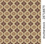 east patterns in brown colors... | Shutterstock .eps vector #28718875