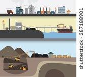 coal graphic | Shutterstock .eps vector #287188901