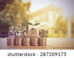 house  agent set and sale for... | Shutterstock . vector #287209175
