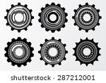 circle infographic design | Shutterstock .eps vector #287212001