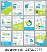 big set of infographics... | Shutterstock .eps vector #287217779