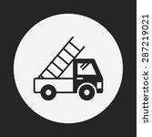 truck icon | Shutterstock .eps vector #287219021