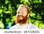 closeup portrait of happy... | Shutterstock . vector #287228201