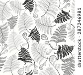 Monochrome Seamless Pattern...