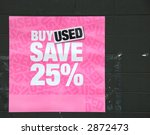 buy used poster | Shutterstock . vector #2872473