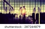 business professional... | Shutterstock . vector #287264879