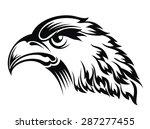 realistic eagle head | Shutterstock .eps vector #287277455