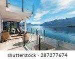 modern architecture  beautiful... | Shutterstock . vector #287277674