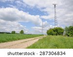 Telecommunication Tower On The...