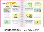 how to deal with your old...   Shutterstock .eps vector #287323244