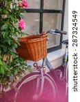 bicycle on the street. | Shutterstock . vector #287324549