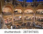 paris  france   jun 6  2015 ... | Shutterstock . vector #287347601