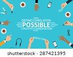 vector possible concept template | Shutterstock .eps vector #287421395