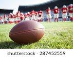 close up of an american... | Shutterstock . vector #287452559