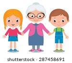 cartoon illustration of a... | Shutterstock . vector #287458691