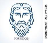poseidon   Shutterstock .eps vector #287496935