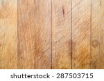 rough wooden used cutting board ... | Shutterstock . vector #287503715