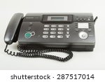 two in one  telephone and fax... | Shutterstock . vector #287517014